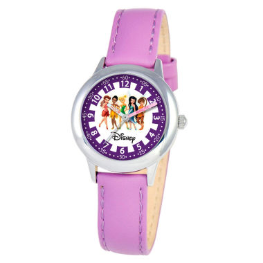 jcpenney.com | Disney Princess Girls Purple Time Teacher Watch-W000079