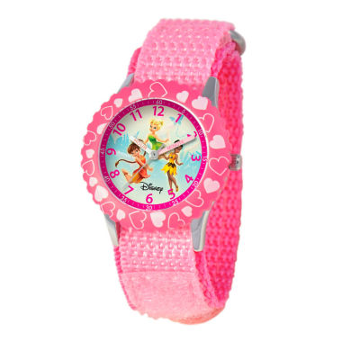 jcpenney.com | Disney Disney Fairies Girls Pink Strap Watch-W000081