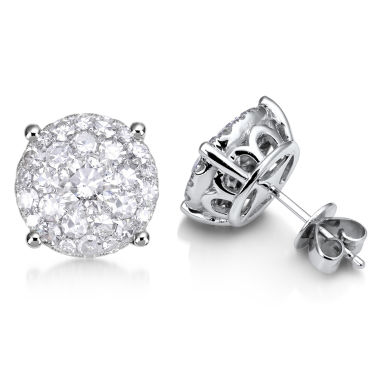 jcpenney.com | Brilliant Dream™  2 CT. T.W. Diamond Cluster Stud Earrings