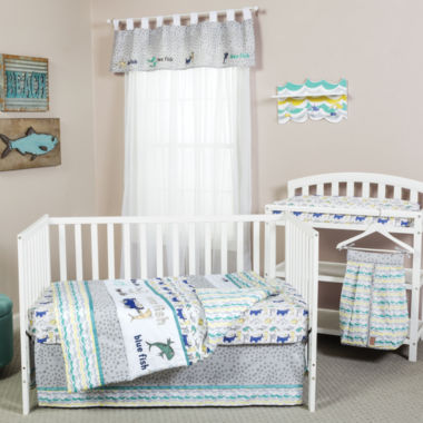 jcpenney.com | Dr Seuss New Fish 5-pc Crib Bedding Set