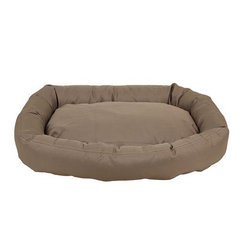 Carolina Pet Company Brutus Tuff Comfy Cup Bolster Dog Bed