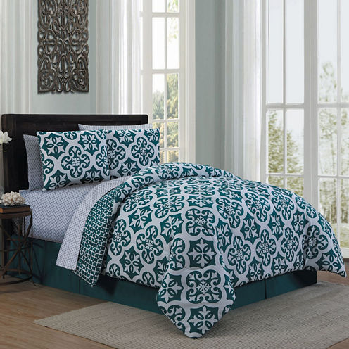Avondale Manor Cadence 8pc Complete Bedding Set with Sheets
