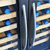 NewAir AW-321ED 32 Bottle Dual Zone ThermolectricWine Cooler