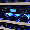 NewAir AWR-460DB Dual Zone 46 Bottle Wine Cooler