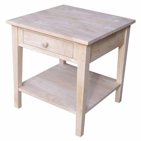 Spencer 1-Drawer End Table