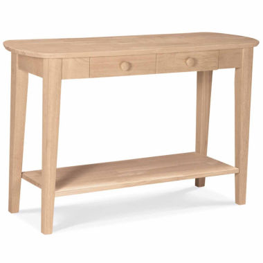 jcpenney.com | Philips Oval Sofa 1-Drawer Console Table