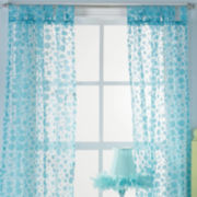 Polka Dot Swirl Window Coverings