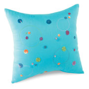 Polka Dot Swirl Decorative Pillows