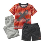 Carter's® 3-pc. Airplane Pajama Set - Boys 12m-24m