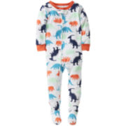 Carter's® Dinosaur Footed Pajamas - Boys 12m-24m