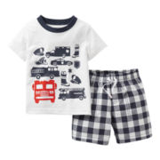 Carter's® 2-pc. Emergency Rescue Short Set - Boys newborn-24m