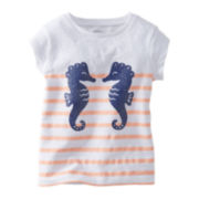 Carter's® Seahorse Short-Sleeve Tee - Girls 2t-4t
