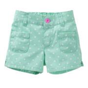 Carter's® Woven Dot Shorts - Girls 2t-4t
