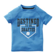 Carter's® Baseball Short-Sleeve Active Tee - Boys 2t-4t