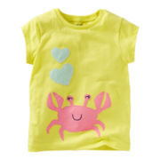 Carter's® Crab Short-Sleeve Tee - Girls 4-6x