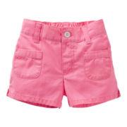 Carter's® Canvas Shorts - Girls 4-6x