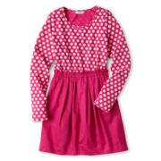 Joe Fresh™ Dotty Dress - Girls 4-14