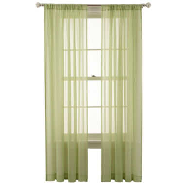 jcpenney.com | MarthaWindow™ Airy Rod-Pocket Sheer Panel