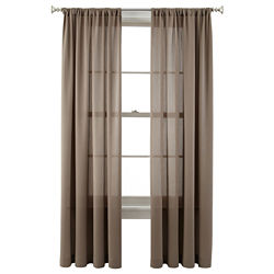 CLOSEOUT! Royal Velvet® Ally Rod-Pocket Curtain Panel