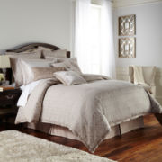 Royal Velvet® Battista 4-pc. Jacquard Comforter Set