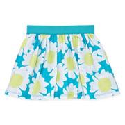 Okie Dokie® Printed Skort - Toddler Girls 2t-5t