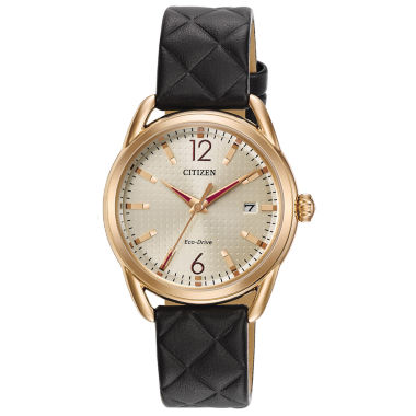 jcpenney.com | Drive from Citizen Womens Black Strap Watch-Fe6083-13p
