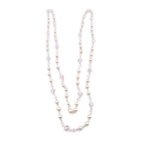 Vieste Rosa Womens Brass Strand Necklace