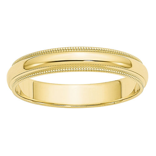Womens 10K Gold Wedding Band