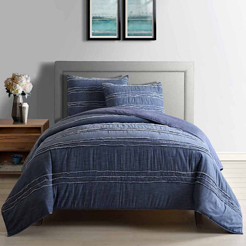 Frayed Chambray Quilt