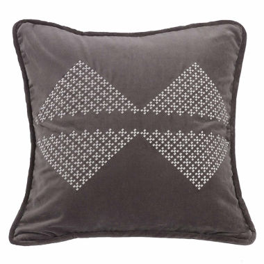 jcpenney.com | Hiend Accents Whistler Diamond Square Throw Pillow