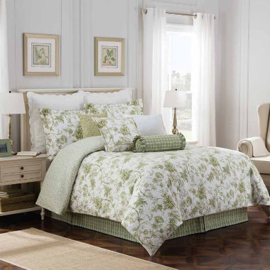jcpenney.com | Williamsburg Burwell 4-pc. Floral Comforter Set