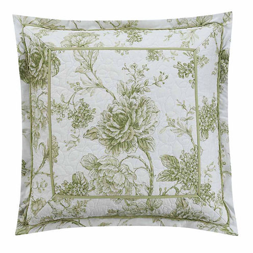 Williamsburg Burwell 18x18 Square Throw Pillow