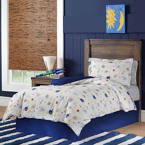 Lullaby Bedding Space Lightweight Comforter Set