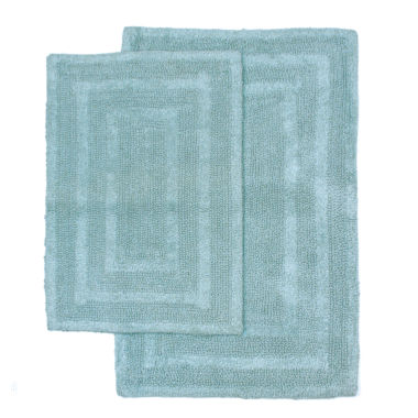 jcpenney.com | Homewear Linens Monaco 2-pc. Reversible Bath Rug Set