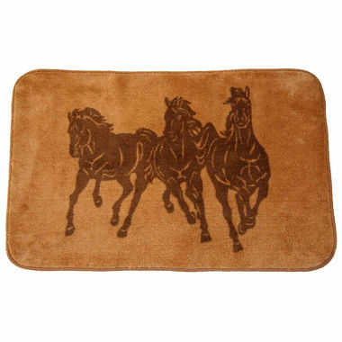 jcpenney.com | Hiend Accents Wild Horses Bath Rug Collection