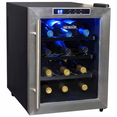 jcpenney.com | NewAir AW-121E 12 Bottle Thermoelectric Wine Cooler
