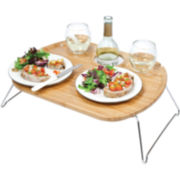 Picnic Time Mesamio Portable Wine Tray