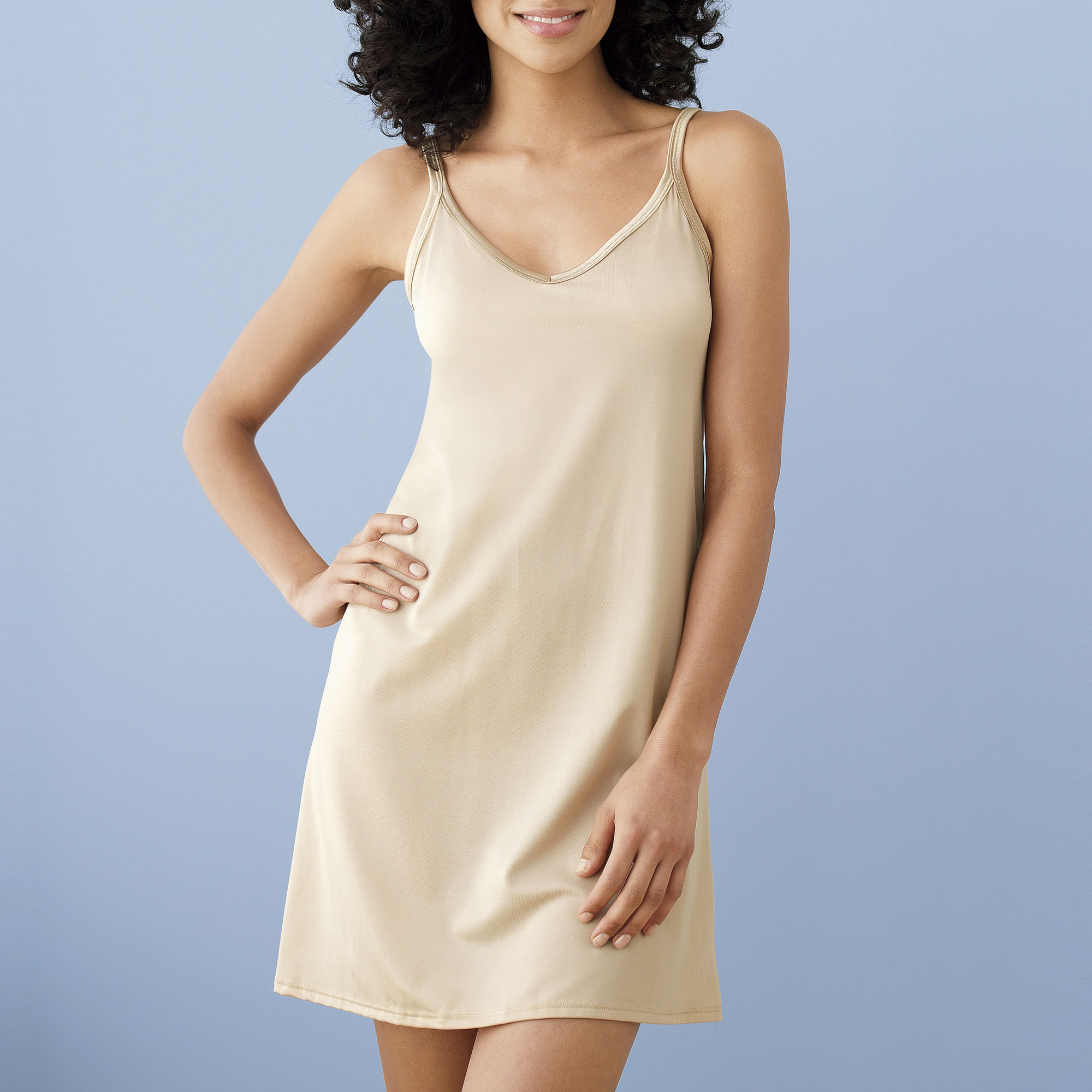 "Vanity Fair Reversible Neckline 18"" Full Slip - 10158 plus size,  plus size fashion plus size appare"