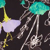 Doodle Floral Blac