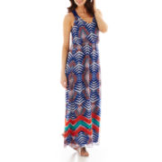 Bisou Bisou® Print Maxi Dress