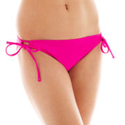 Arizona Side-Tie Keyhole Hipster Swim Bottoms