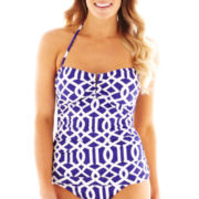 Liz Claiborne Bandeaukini Swim Top