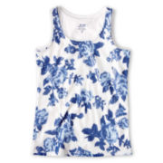 Joe Fresh™ Sequin Rose Tank Top - Girls 4-14