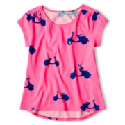 Total Girl® Graphic Top - Girls 6-16 and Plus