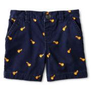 Okie Dokie® Twill Shorts - Boys 12m-6y