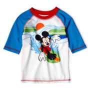 Disney Mickey Mouse Rashguard - Boys 2-10