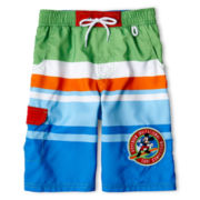 Disney Mickey Mouse Swim Trunks - Boys 2-10