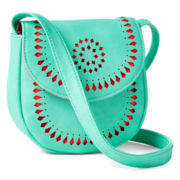 Arizona Perforated Sling Purse - Girls