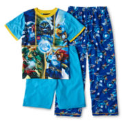 LEGO® Legends of Chima 3-pc. Pajama Set - Boys 4-12