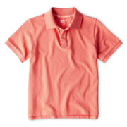 Arizona Short-Sleeve Piqué Polo Shirt - Boys 6-18